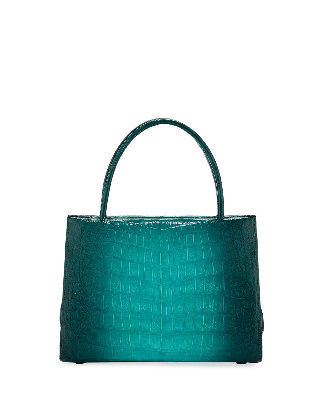 9bb1fd5a09e7 Nancy Gonzalez Wallis Mini Ombre Crocodile Top Handle Bag | Neiman ...