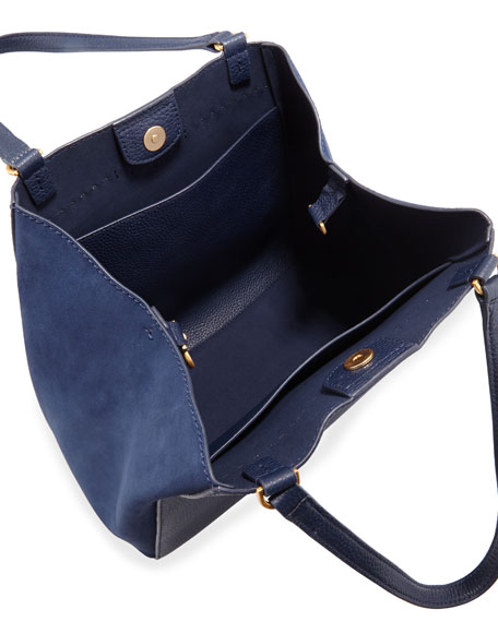 Tory Burch McGraw Mixed Tote Bag