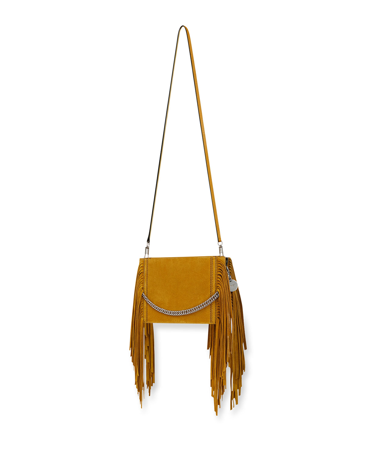 7bfe2be9bb0 Givenchy Triple Fringed Suede Crossbody Bag