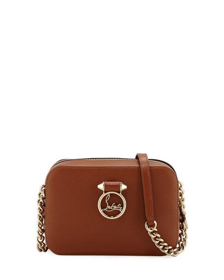 303b46400a Christian Louboutin Ruby Lou Mini Calf Crossbody Bag In Brown ...