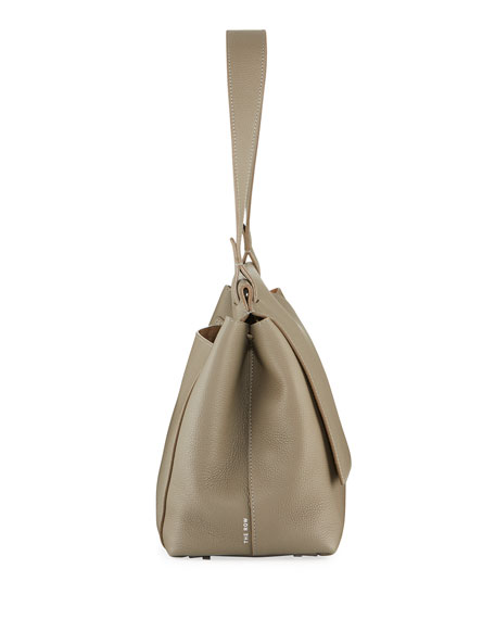 THE ROW Sidekick Two Fine Calf Leather Shoulder Bag