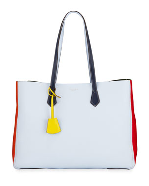 564a3bb8caff11 Tory Burch Perry Large Colorblock Tote Bag