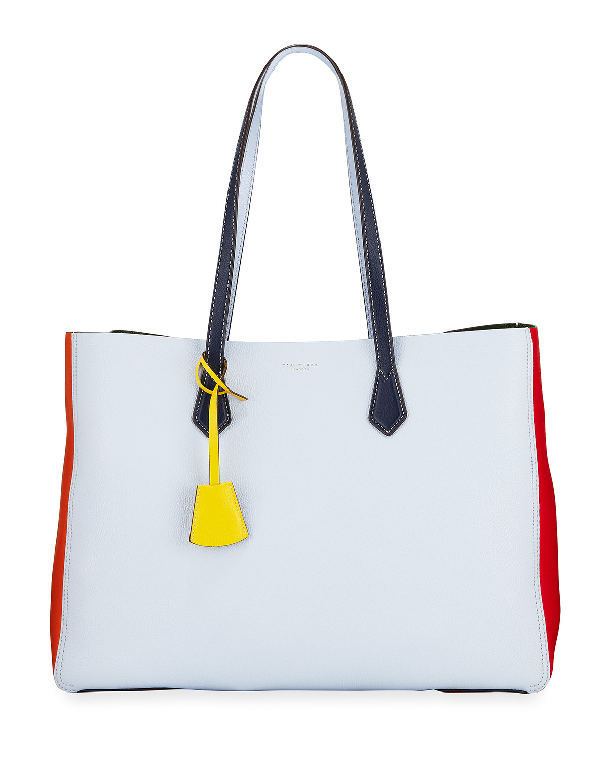 7ffd3ef503f Tory Burch Perry Large Colorblock Tote Bag | Neiman Marcus