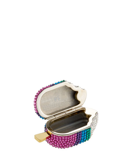 Judith Leiber Couture Rainbow Popsicle Pillbox
