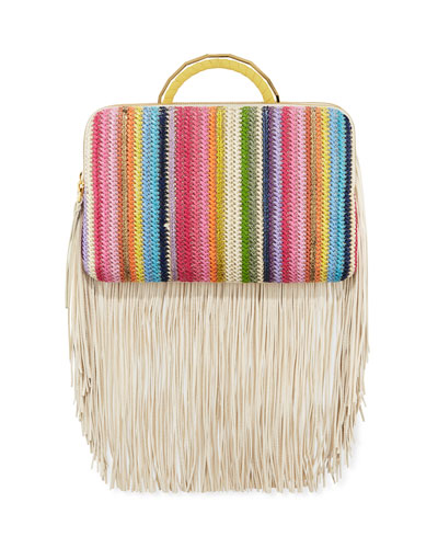 Bon Bon Rainbow Clutch Bag