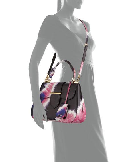 Prada Tie-Dye Prada Sidonie Top-Handle Tote Bag