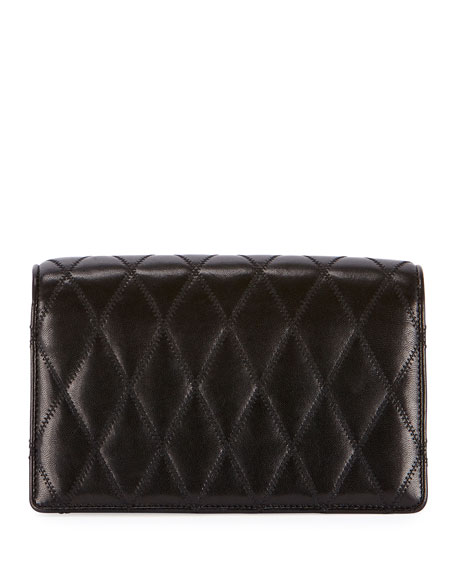 Saint Laurent Angie Quilted Crossbody Bag