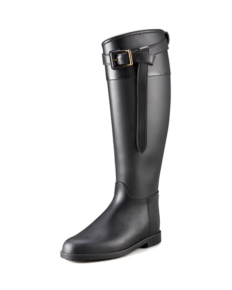 Burberry Roscot Riding Rain Boot