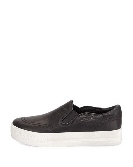 Jungle Platform Skate Sneaker, Black