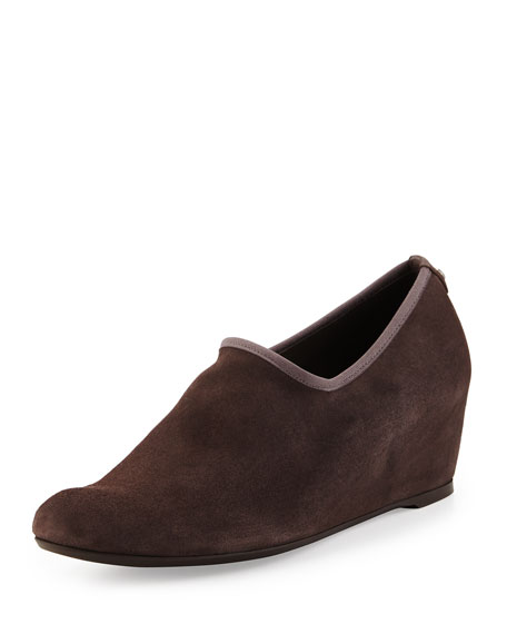 Stuart Weitzman Covering Slip-On Shoe-Bootie, Londra