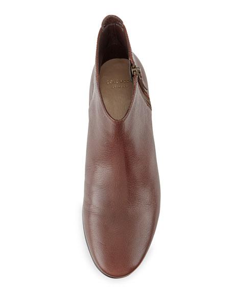 Belmont Leather Bootie, Chestnut