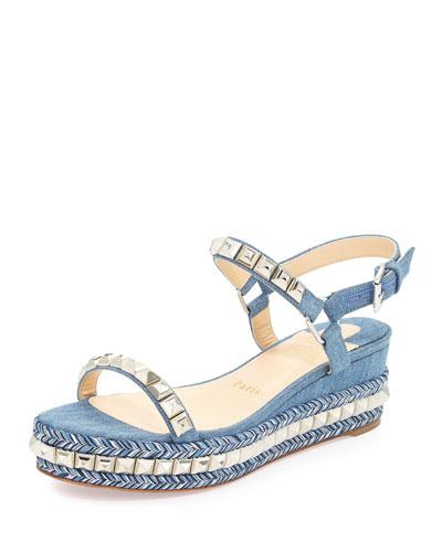 christian louboutin imitations - Premier Designer Wedges : Pumps & Platform Wedge Sandals at Neiman ...