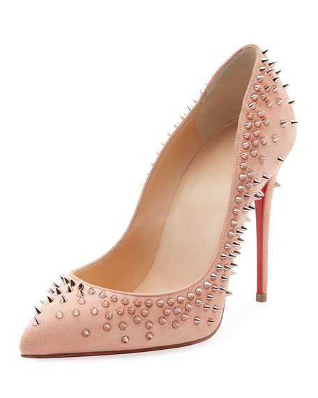 christian louboutin red bottoms history