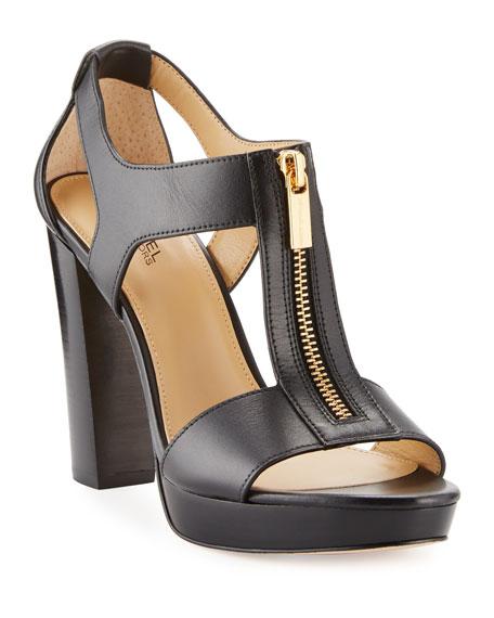 8325da08ee71 MICHAEL Michael Kors Berkley Leather Zip Sandals