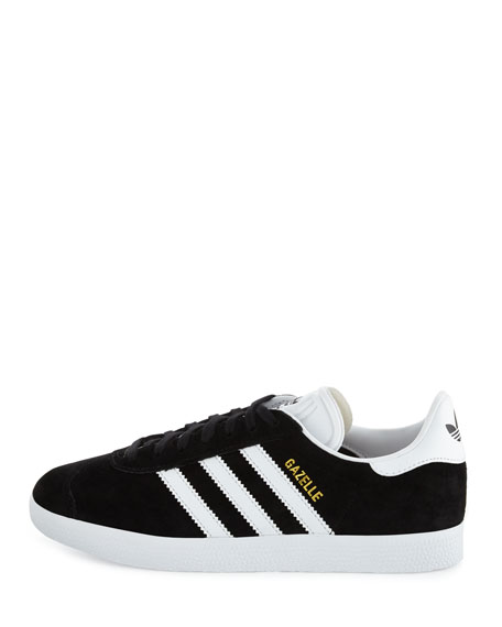 Gazezlle Original Suede Sneaker, Black/White