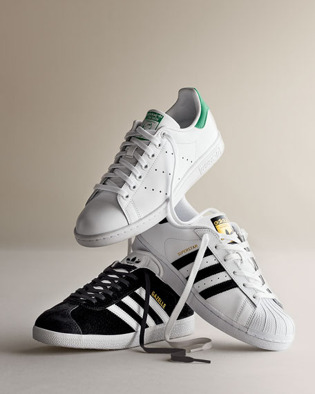Gazezlle Original Suede Sneaker, Black/White
