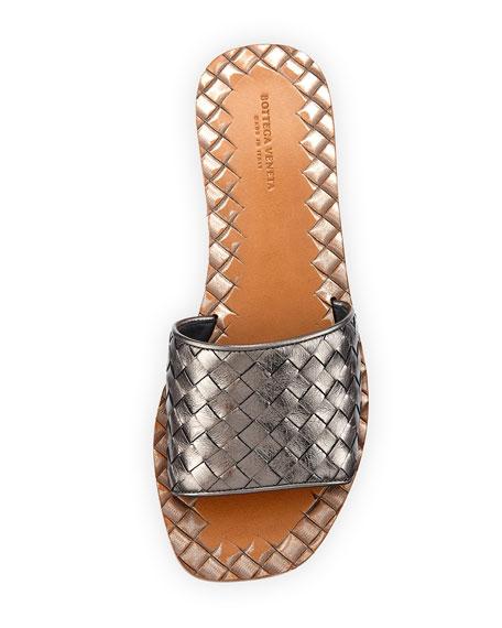 Intrecciato Napa Slide Sandal