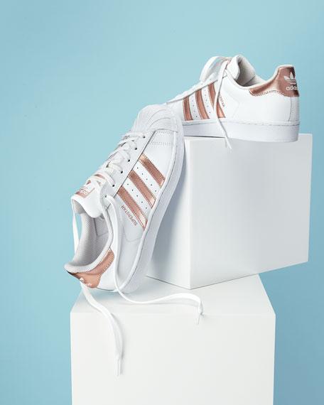 adidas rose gold navy