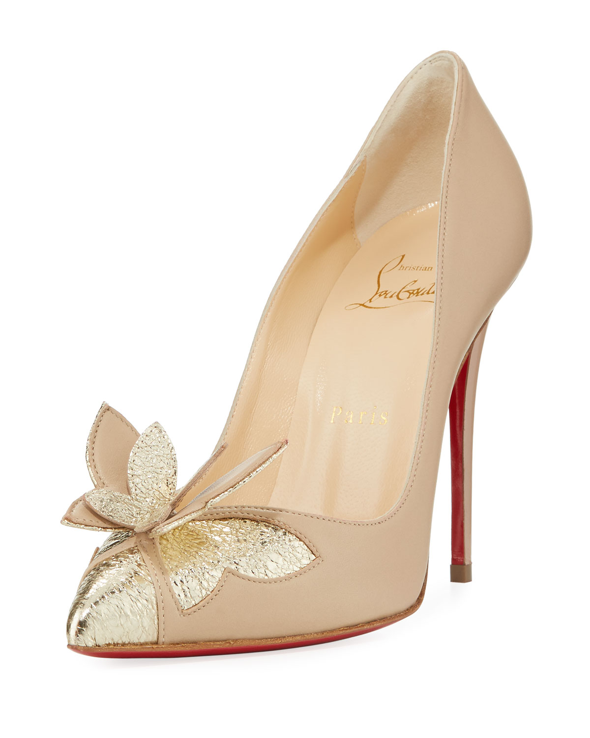 a804c895d44a Christian Louboutin Maripopump Butterfly Red Sole Pumps