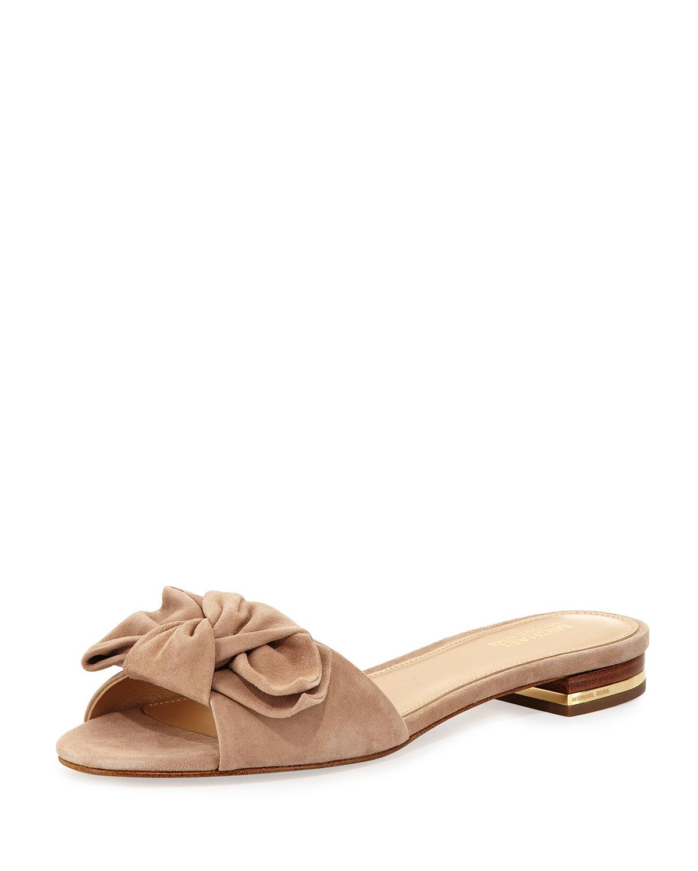 9f7fa41720f Willa Suede Flat Slide Sandal