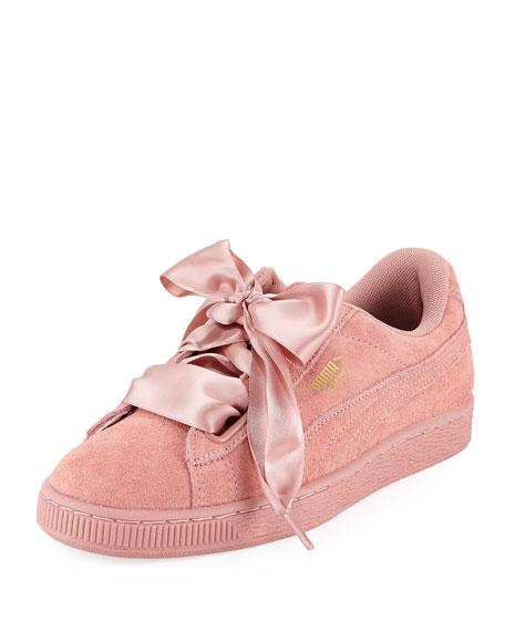 Puma Heart Suede Satin II Sneaker