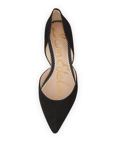 Rodney Suede Ballerina Flat
