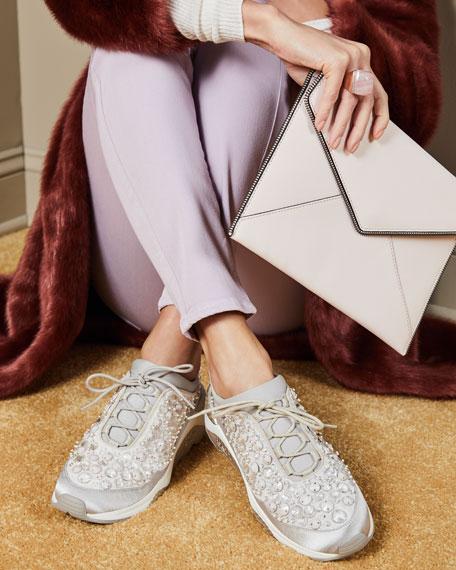 Muse Beaded Crystal Sneaker