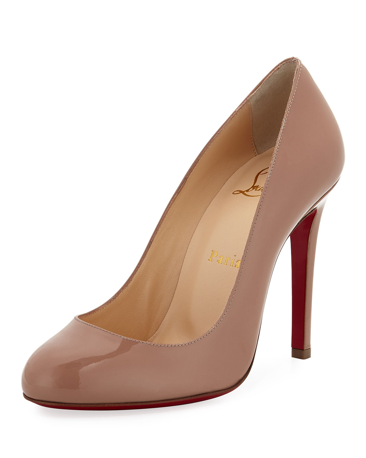 promo code 7d02d 60b6b Fifille Patent Red Sole Pump