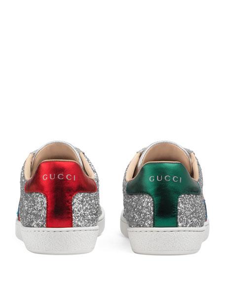 Saturn Glitter Low-Top Sneakers