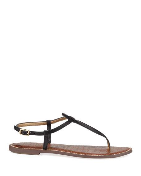 Sam Edelman Gigi Leather Flat Thong Sandal
