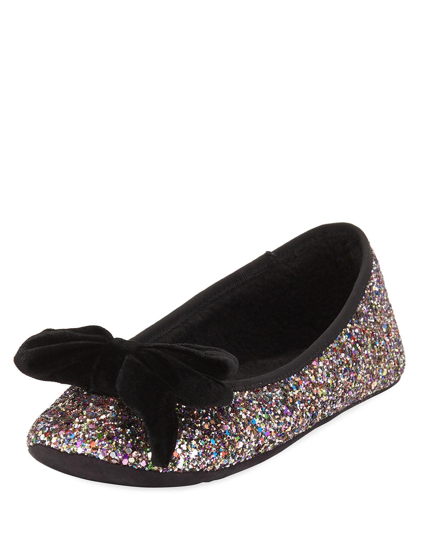 f96868886c5b kate spade new york sussex velvet bow glittery ballet slippers ...