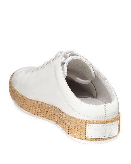 RB1 Leather Slide Sneaker Mule
