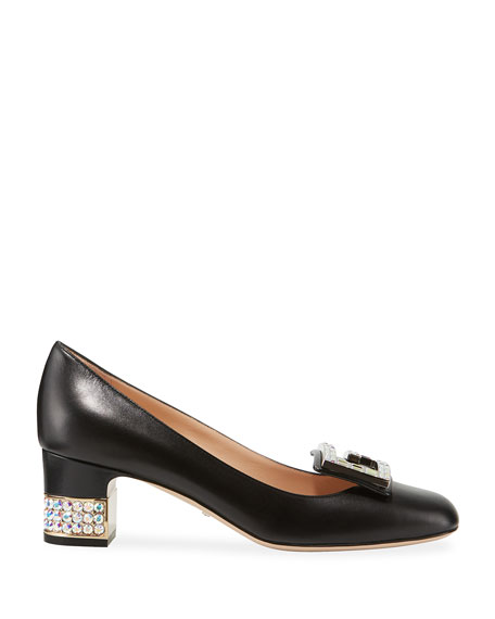 Gucci Madelyn 55mm Leather Pump