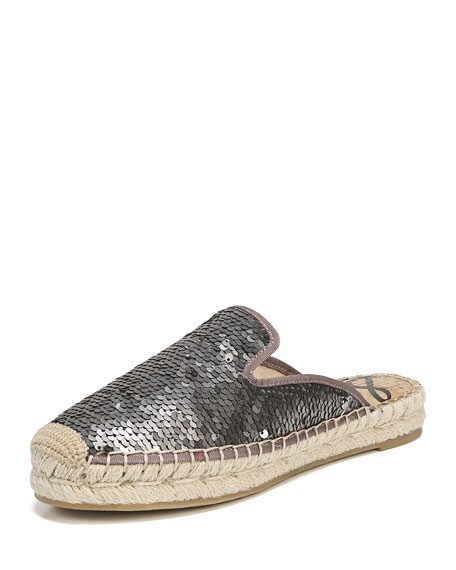 Sam Edelman Kerry Espadrille Mule(Women's) -Black Nappa Leather Great Deals Online Pictures For Sale Discount Aaa Footlocker For Sale Big Discount wqwtyFJTjy