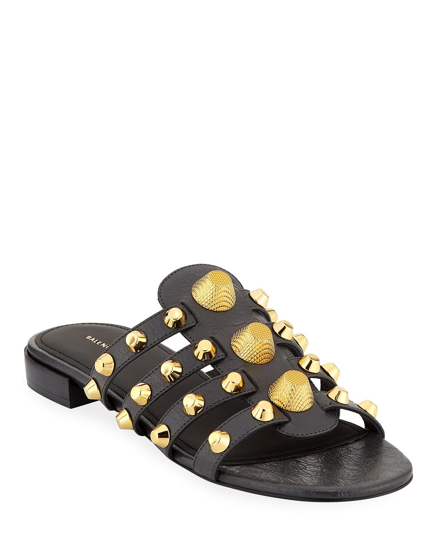 9314451f7d9e Balenciaga Giant Studded Leather Sandal