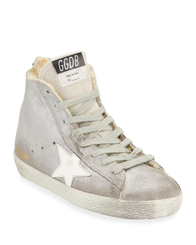 golden goose francy high tops