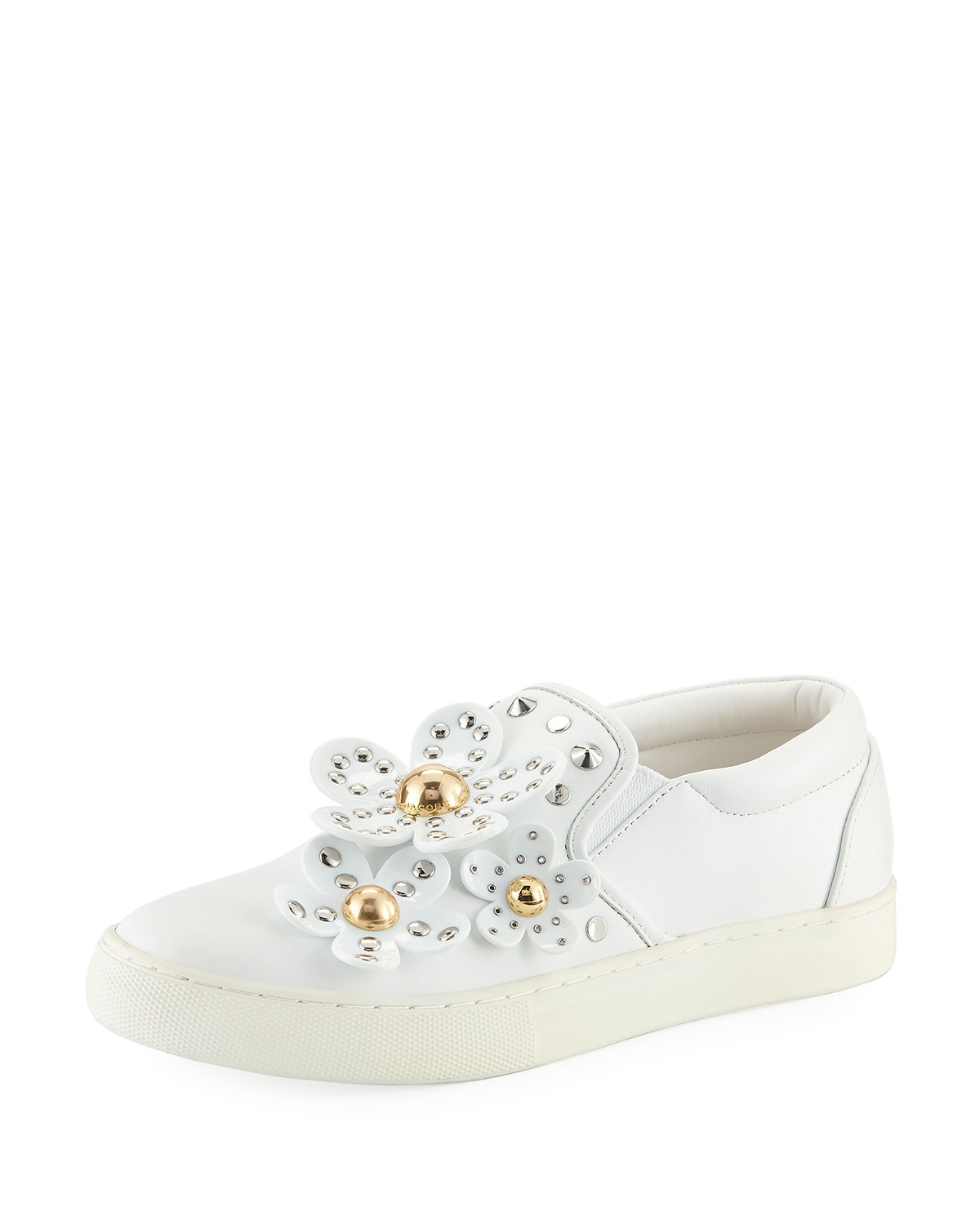 Sneakers Daisy Studded Slip Leather On 1x4wAq