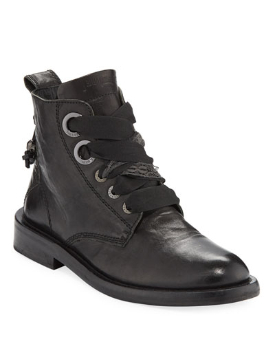 Laureen Roma High-Top Boots