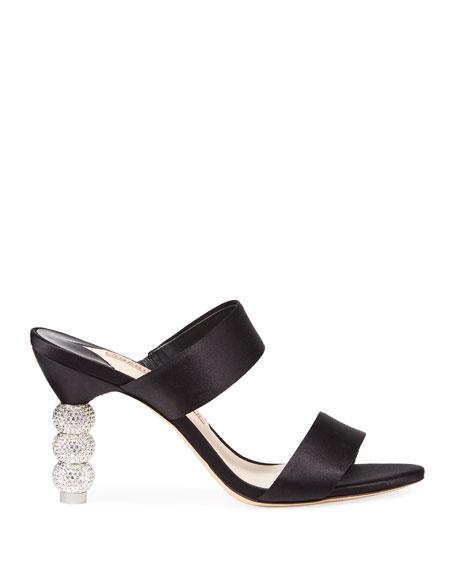 Sophia Webster Rosalind Crystal Slide Mules