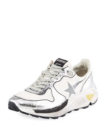 Golden Goose Running Mixed Media Sneakers