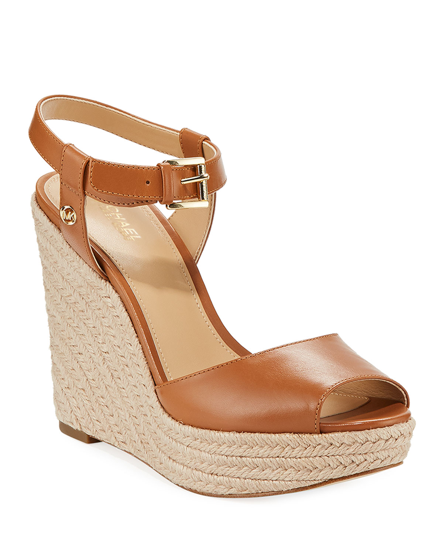 9cc0bcf7f4b6 MICHAEL Michael Kors Carlyn Espadrille Wedge Sandals