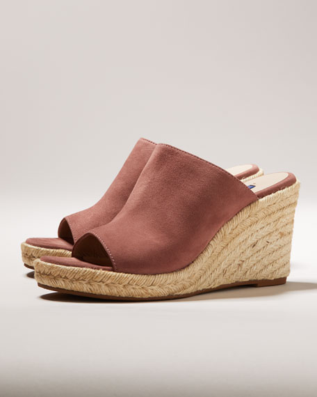 Stuart Weitzman Marabella Wedge Slide Sandals