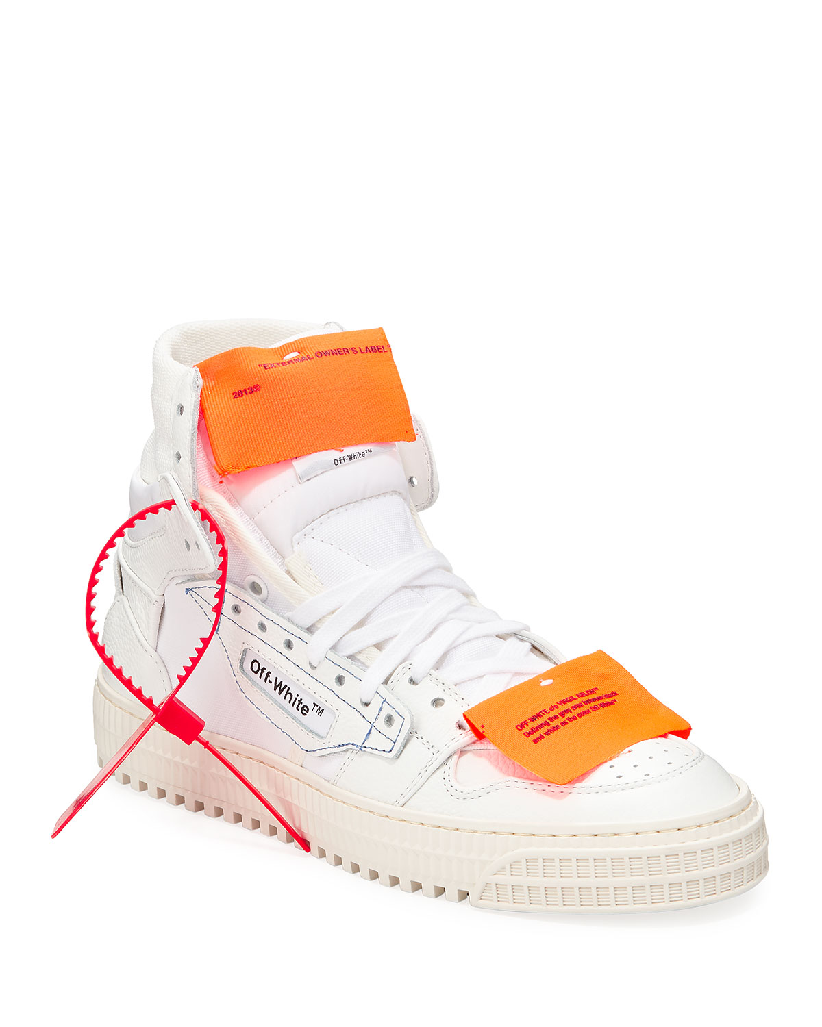 Off Court High Top Sneakers