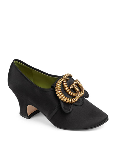 Ortensia Satin 65mm Pumps