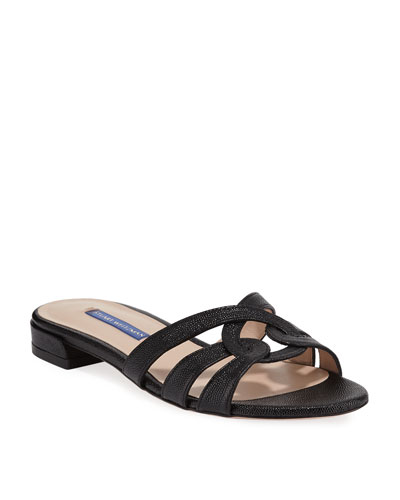 Cami Looped Knot Patent Sandals