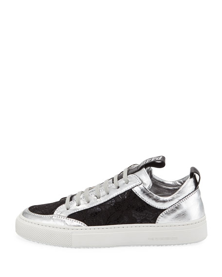 P448 Soho Embellished Patent Leather Sneakers