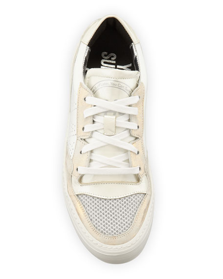 P448 Spacelow Pearlized Low-Top Sneakers