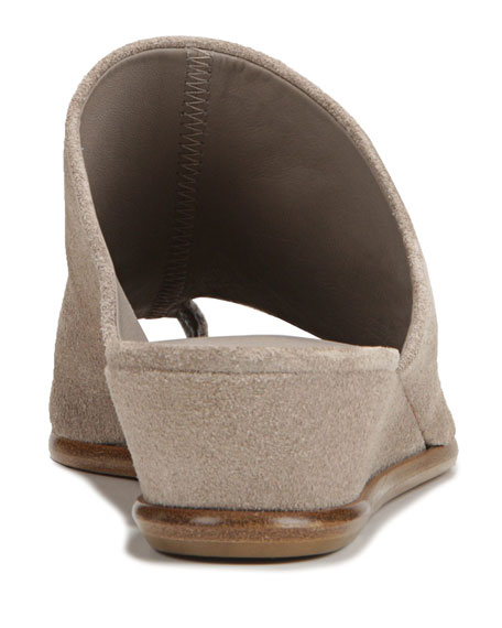 Vince Darla Suede Wedge Sandals