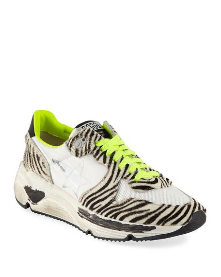 Golden Goose Zebra-Print Running