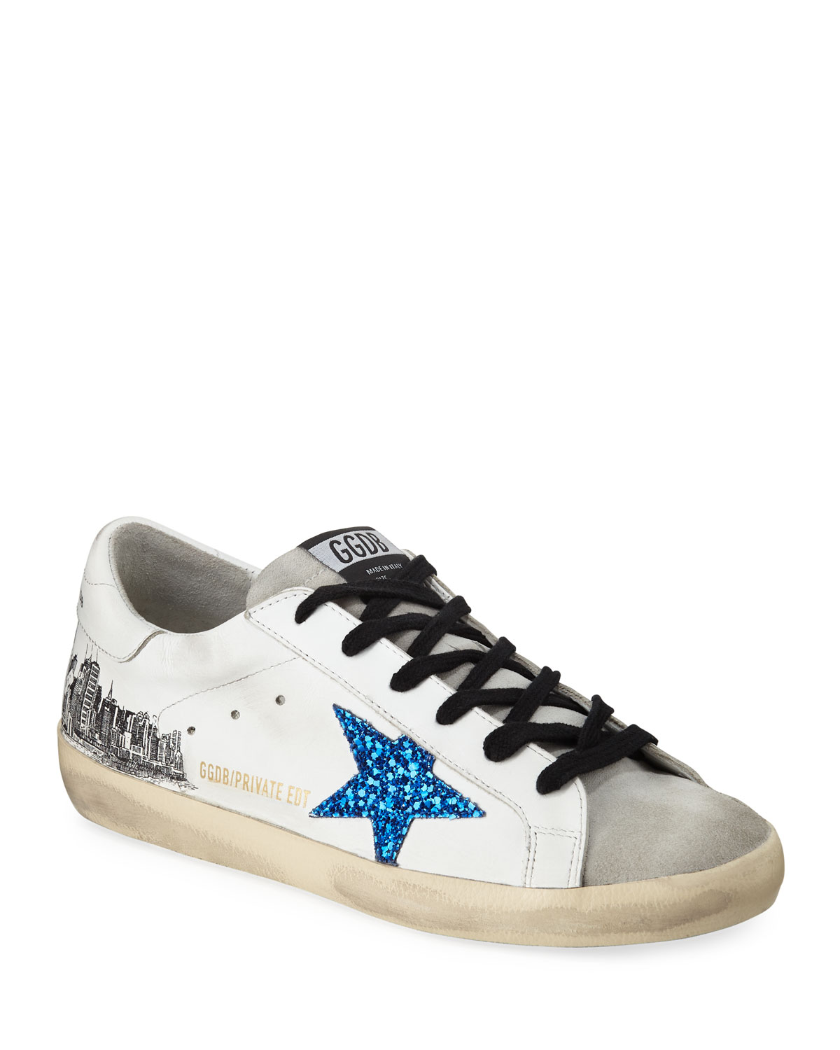 e0568467a65ba Golden Goose Superstar NYC Leather Sneakers | Neiman Marcus